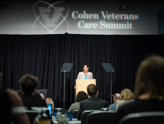 Opening Remarks by Magali Haas, MD, PhD, at the 2016 Cohen Veterans Care Summit
